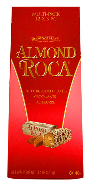 Brown & Hayley - Almond Roca and more Confectionery at The Professors Online Lolly Shop. (Image Number :13791)
