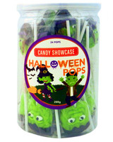 Candy Showcase Witch & Frankenstein Pops and more Confectionery at The Professors Online Lolly Shop. (Image Number :13365)