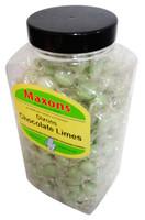 Maxons - Dixons Chocolate Limes (2.27kg jar)