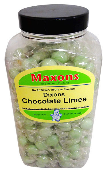Maxons - Dixons Chocolate Limes and more Confectionery at The Professors Online Lolly Shop. (Image Number :13241)