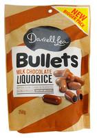 Darrell Lea - Milk Choc Bullets ( 250g)