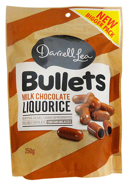 Darrell Lea - Milk Choc Bullets, by Darrell Lea,  and more Confectionery at The Professors Online Lolly Shop. (Image Number :12931)