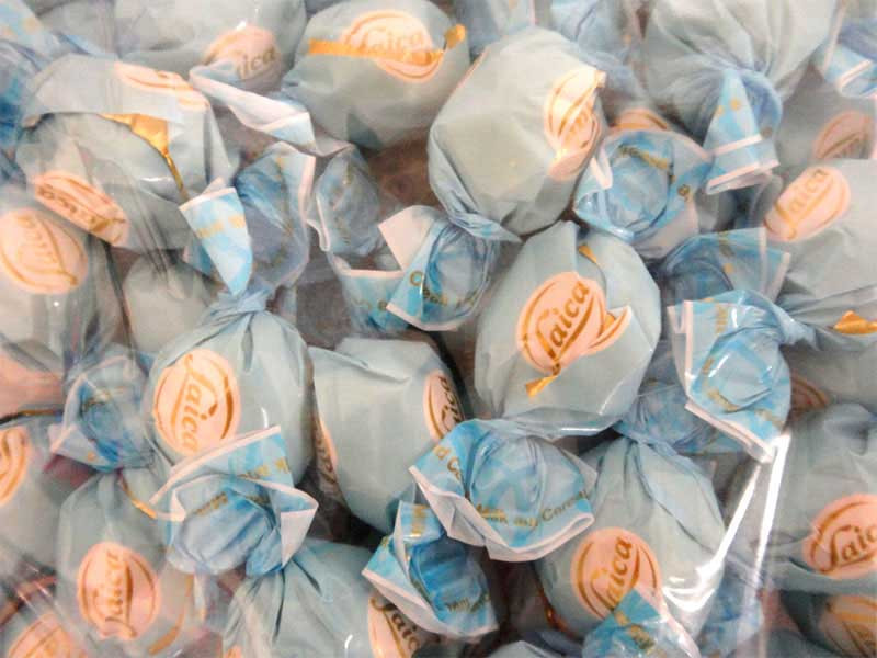 Laica Chocolate Pralines - Baby Blue and more Confectionery at The Professors Online Lolly Shop. (Image Number :13154)