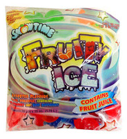 Snowtime Fruity Ice, by AIT Confectionery,  and more Snack Foods at The Professors Online Lolly Shop. (Image Number :13165)