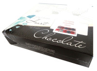 Chocolate Gems - Christmas Medallions - Silver (16 x 60g packs per box)
