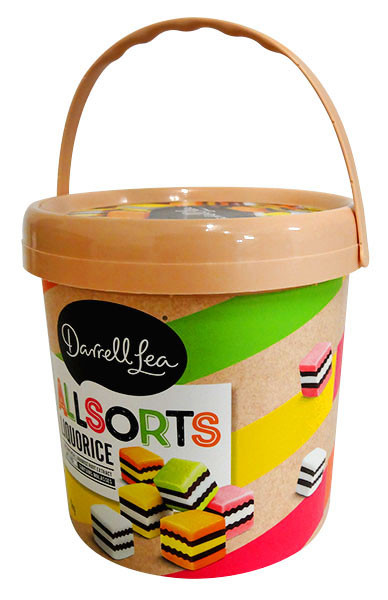 Darrell Lea Liquorice Allsorts Gift Tub, by Darrell Lea,  and more Confectionery at The Professors Online Lolly Shop. (Image Number :13210)