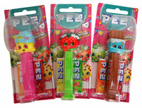 Pez Candy Dispensers -Shopkins, by Pez,  and more Confectionery at The Professors Online Lolly Shop. (Image Number :13646)