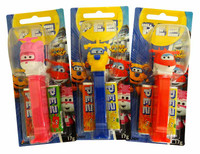 Pez Candy Dispensers - Super Wings, by Pez,  and more Confectionery at The Professors Online Lolly Shop. (Image Number :13648)