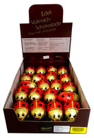 Baur Ladybirds Red Hollow Milk Chocolate (40 x 18g in a display Box)