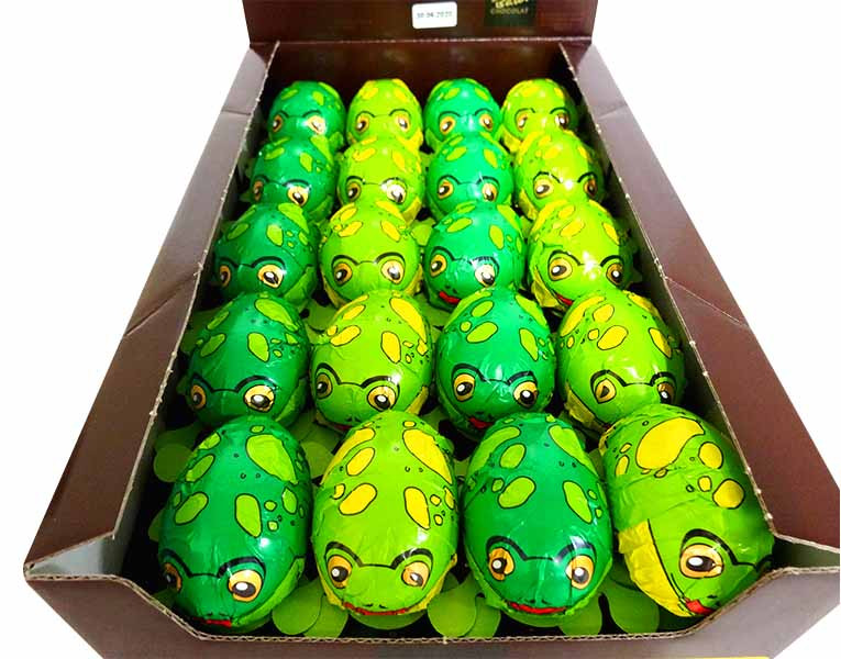 Baur Frogs Hollow Milk Chocolate, by Baur Chocolat,  and more Confectionery at The Professors Online Lolly Shop. (Image Number :13778)