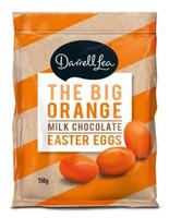 Darrell Lea The Big Orange Eggs ( 150g bag)