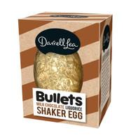 Darrell Lea Liquorice Bullets Milk Chocolate Shaker Egg ( 180g)