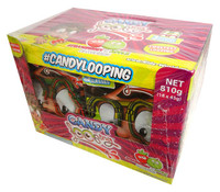 Candy Looping Glasses - 3 Colours (45g x 18pc display box)