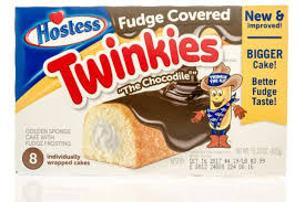 Hostess Twinkies - Fudge Covered, by Hostess Twinkies,  and more Snack Foods at The Professors Online Lolly Shop. (Image Number :13312)