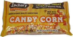 Zachary Trick or Treat Bags of Candy Corn, by Other,  and more Confectionery at The Professors Online Lolly Shop. (Image Number :13325)