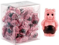 Abtey Little Pigs - Milk Chocolate and Strawberry (25 x 17g in a Tub)