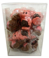 Abtey Little Pigs - Milk Chocolate and Strawberry and more Confectionery at The Professors Online Lolly Shop. (Image Number :13764)