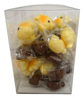 Abtey Little Fishes - Milk &White Chocolate (40 x 10g in a Tub)