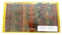 Belgian Pate De Fruit - 62 Fruit Jellies with Stalk ( 1.2kg Box)