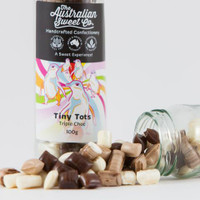 Tiny Tots - Triple Chocolate Rock (100g Jar)