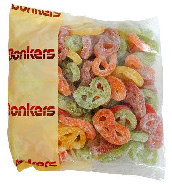 Donkers Dutch Fruit -  Dropkrakelingen and more Confectionery at The Professors Online Lolly Shop. (Image Number :13952)