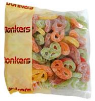 Donkers Dutch Fruit -  Dropkrakelingen  (Pretzel) (1kg bag)