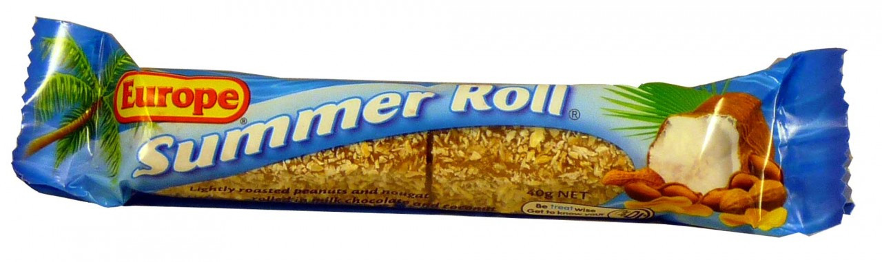 Europe Summer Rolls, by Europe,  and more Confectionery at The Professors Online Lolly Shop. (Image Number :13363)