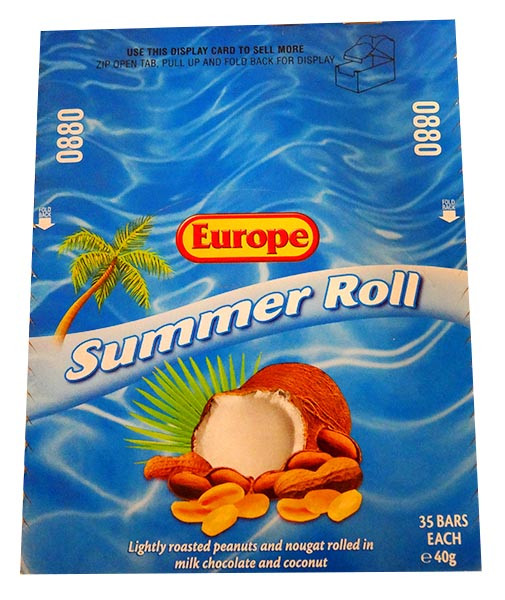 Europe Summer Rolls, by Europe,  and more Confectionery at The Professors Online Lolly Shop. (Image Number :13957)