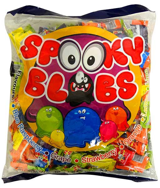 Spooky Blobs, by TNT,  and more Confectionery at The Professors Online Lolly Shop. (Image Number :13736)