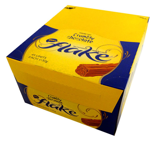 Cadbury Flake, by Cadbury,  and more Confectionery at The Professors Online Lolly Shop. (Image Number :13796)