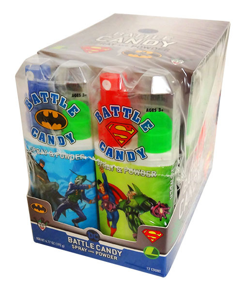 DC Comic Battle Candy - Spray and Powder and more Confectionery at The Professors Online Lolly Shop. (Image Number :13688)