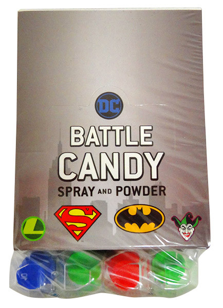 DC Comic Battle Candy - Spray and Powder and more Confectionery at The Professors Online Lolly Shop. (Image Number :13689)