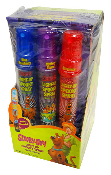 Scooby Light Up Spray, by Tasty Treats,  and more Confectionery at The Professors Online Lolly Shop. (Image Number :13704)