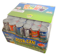 Soda Can Fizzy Candy, by Kidsmania,  and more Confectionery at The Professors Online Lolly Shop. (Image Number :13707)