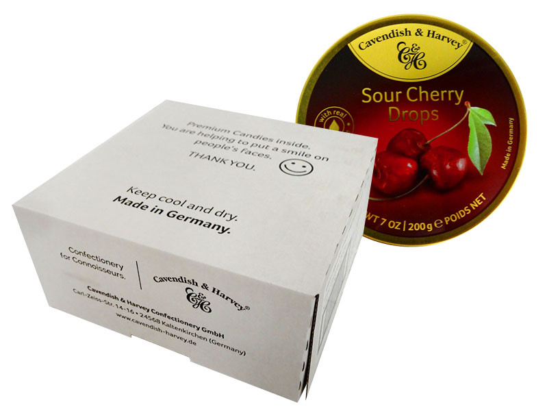 Cavendish & Harvey - Sour Cherry and more Confectionery at The Professors Online Lolly Shop. (Image Number :13920)