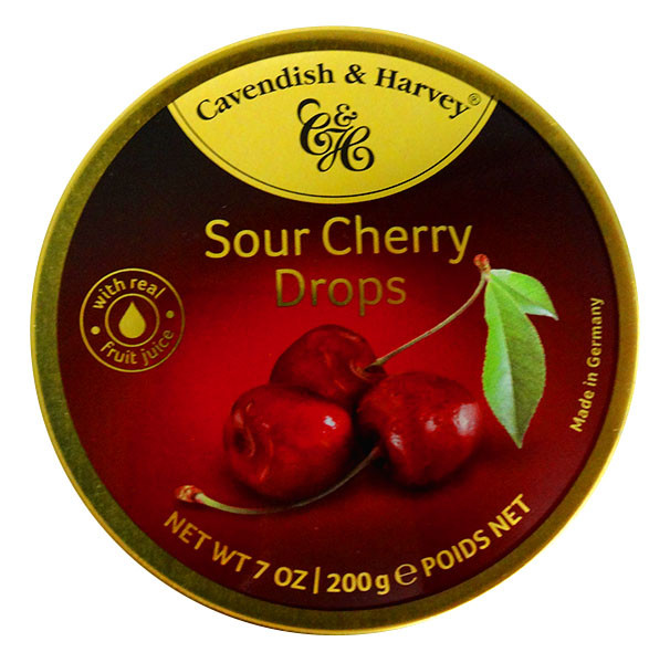 Cavendish & Harvey - Sour Cherry and more Confectionery at The Professors Online Lolly Shop. (Image Number :13921)