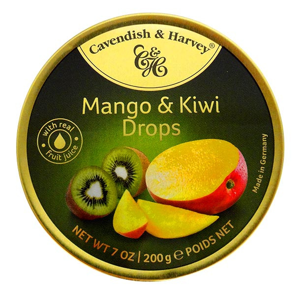 Cavendish & Harvey - Mango & Kiwi and more Confectionery at The Professors Online Lolly Shop. (Image Number :13919)
