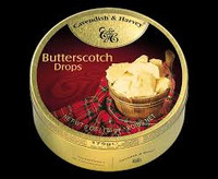 Cavendish & Harvey - Butterscotch (10pc x 175g tin)