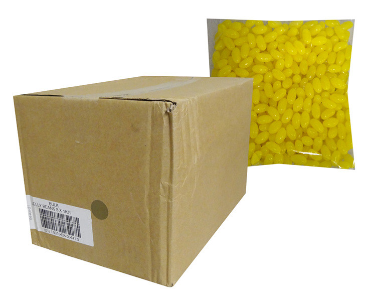 Allseps Jelly Beans - Yellow, by Metford Confectionery/Other,  and more Confectionery at The Professors Online Lolly Shop. (Image Number :13876)