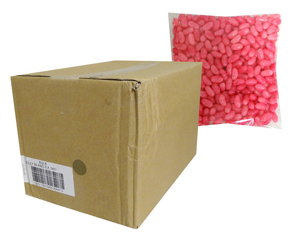 Allseps Jelly Beans - Pink, by Allseps,  and more Confectionery at The Professors Online Lolly Shop. (Image Number :13874)