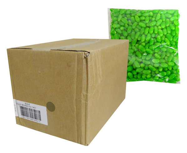 Allseps Jelly Beans - Green, by Allseps,  and more Confectionery at The Professors Online Lolly Shop. (Image Number :13872)