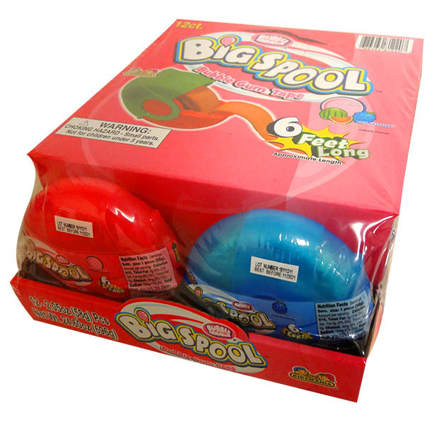 Big Spool Bubble Tape, by Kidsmania,  and more Confectionery at The Professors Online Lolly Shop. (Image Number :13678)