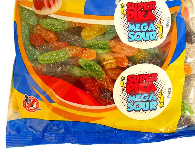 Damel Super Sour Worms, by Damel,  and more Confectionery at The Professors Online Lolly Shop. (Image Number :13819)