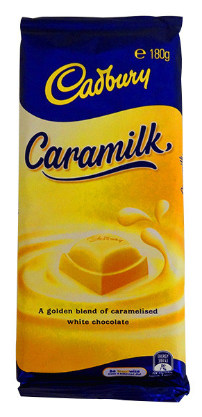 Cadbury Caramilk Family Blocks, by Cadbury,  and more Confectionery at The Professors Online Lolly Shop. (Image Number :13792)