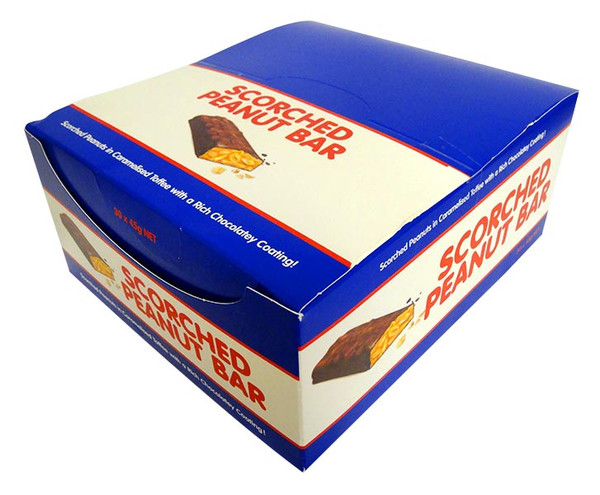 Scorched Peanut Bar, by Cooks Confectionery,  and more Confectionery at The Professors Online Lolly Shop. (Image Number :14247)