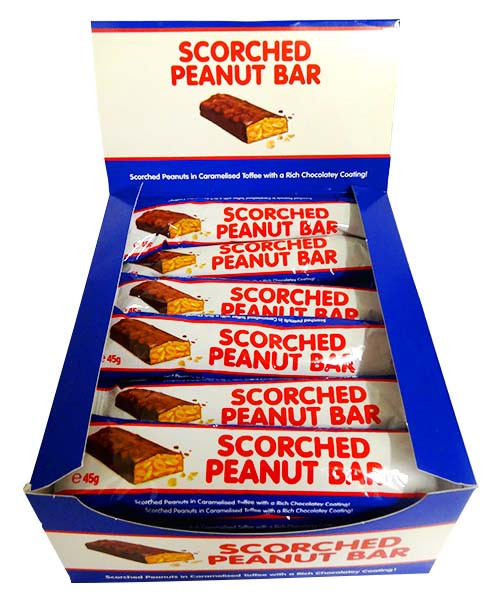 Scorched Peanut Bar, by Cooks Confectionery,  and more Confectionery at The Professors Online Lolly Shop. (Image Number :14249)