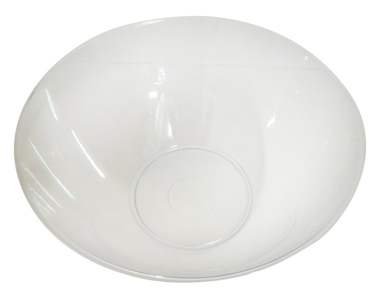 Swirl Bowl Clear Plastic - Large and more Partyware at The Professors Online Lolly Shop. (Image Number :14278)