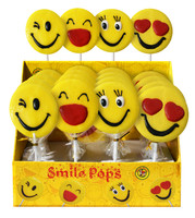 Smile Pops, by AIT Confectionery,  and more Confectionery at The Professors Online Lolly Shop. (Image Number :13502)