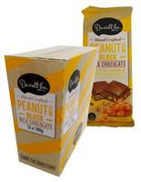 Darrell Lea Peanut Brittle Chocolate Block (16 x 180g Blocks in a display box)