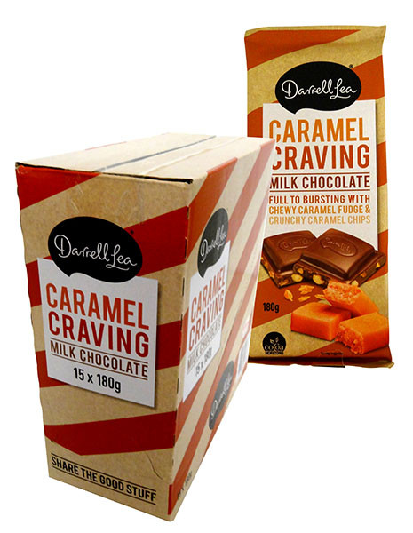 Darrell Lea Caramel Craving Block, by Darrell Lea,  and more Confectionery at The Professors Online Lolly Shop. (Image Number :13880)